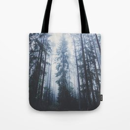 The mighty pines Tote Bag