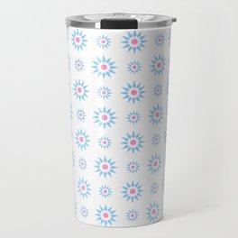 stars 59- pink and blue Travel Mug