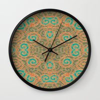 tangled Wall Clocks featuring Tangled by nandita singh