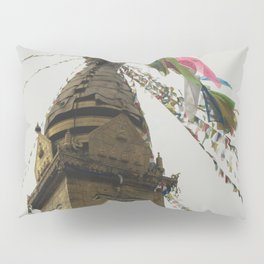 Exploring the City of Kathmandu in Nepal Pillow Sham