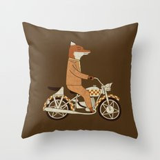 Wild Raider Throw Pillow