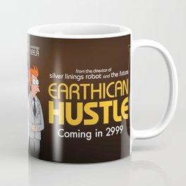 Earthican Hustle parody movie poster - C Coffee Mug