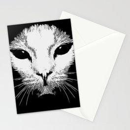 Alien Cat Stationery Cards