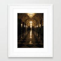 blair waldorf Framed Art Prints featuring Waldorf Astoria  by Melia Metikos