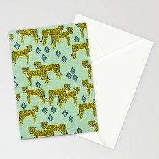 Cheetah safari nursery kids animal nature pattern print gifts Stationery Cards