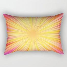 Rays of sunshine Rectangular Pillow