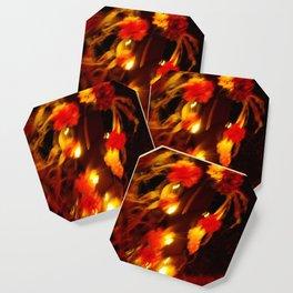 Fiery Flowers Coaster