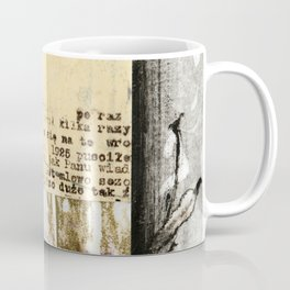 Crossed Lines Coffee Mug