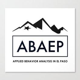 ABAEP Black Canvas Print