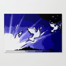 Fly, fly away. Canvas Print