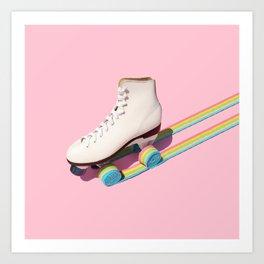 Rainbow Roll Art Print