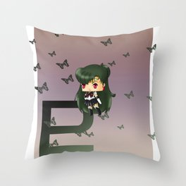 Sailor Pluto Throw Pillow