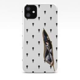 JoJo - Bruno Bucciarati Pattern [Zipper Ver.] iPhone Case