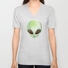 Hello earthlings. Take us to your house. Unisex V-Neck