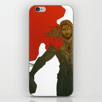thor iPhone & iPod Skins featuring Thor by Pulvis