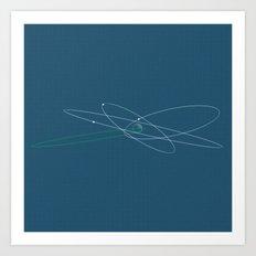 Yavin 4 Art Print