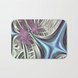 Cosmic Orchid - Fractal Art Bath Mat