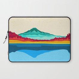 Mount Hood and Trillium Lake Laptop Sleeve