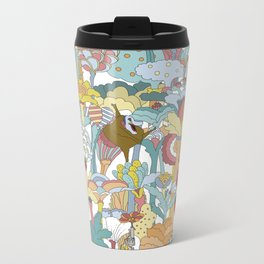 Pepperland Allover Metal Travel Mug