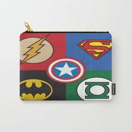 Superhero Logos No. 2 Carry-All Pouch