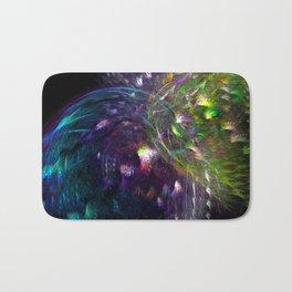Black Peacocks Bath Mat