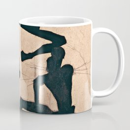 Egon Schiele  -  Composition With Three Male Nudes Coffee Mug