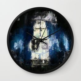 Dark Cobra Wall Clock