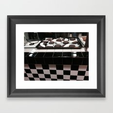 B&W COOKIES Framed Art Print