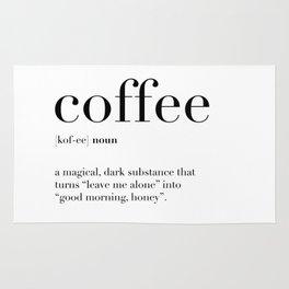 Coffee Definition Rug