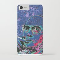 hunter s thompson iPhone & iPod Cases featuring Hunter S. Thompson by Kori Levy illustration & design