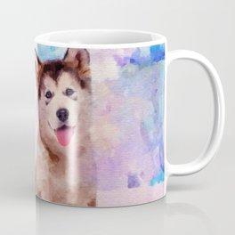 Alaskan Malamute Puppies - Pastels Coffee Mug