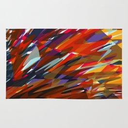 Colorful Chaos Rug