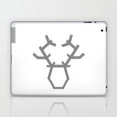Digital washi tape deer head modern Laptop & iPad Skin