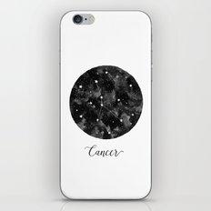 Cancer Constellation iPhone & iPod Skin