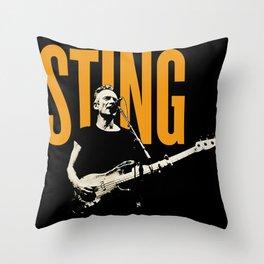 STING WORLD TOUR DATES 2020 BAUKENCUR Throw Pillow