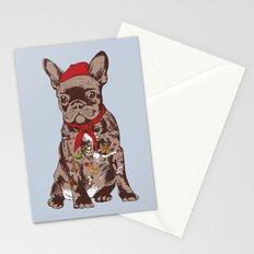 French Bulldog Tattoo Stationery Cards