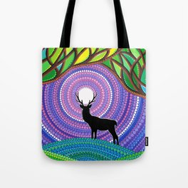 A Silent Visitor Tote Bag