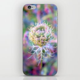 Wild carrot iPhone Skin