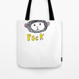 MONKEYS ROCK Tote Bag