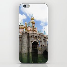 Sleeping Beauty's Castle (Daytime, no.3) iPhone Skin