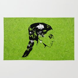 Lady of the Vine Rug