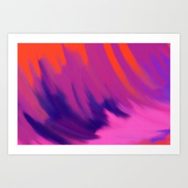 Surf Trip Art Print