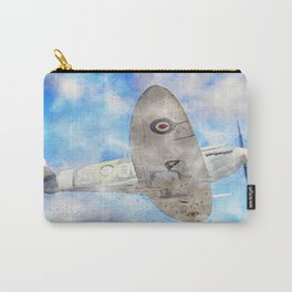Mark Vb Spitfire in Flight Carry-All Pouch