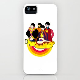 Yellow Submarine - Pop Art iPhone Case