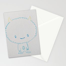 Adorable Yeti Stationery Cards