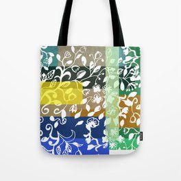 Unconventional lace Tote Bag