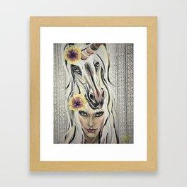 UNICORNLOVE Framed Art Print
