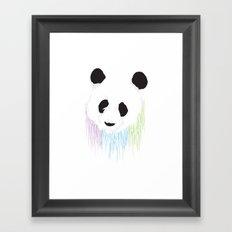 Pand Splash Framed Art Print