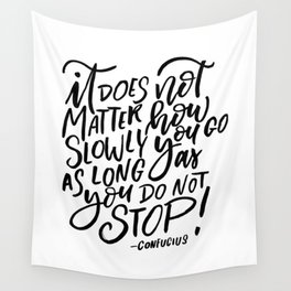 """Don""""t stop Wall Tapestry"""