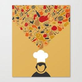 Cook Canvas Print
